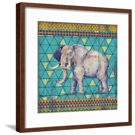 Tribal Trek IV-Paul Brent-Framed Art Print
