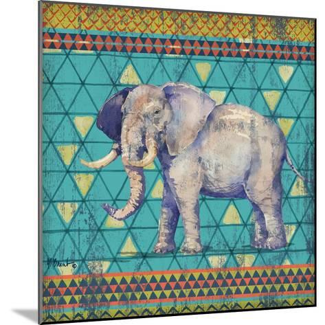 Tribal Trek IV-Paul Brent-Mounted Art Print