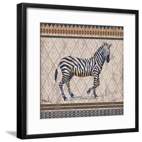 Tribal Trek Neutral I-Paul Brent-Framed Art Print