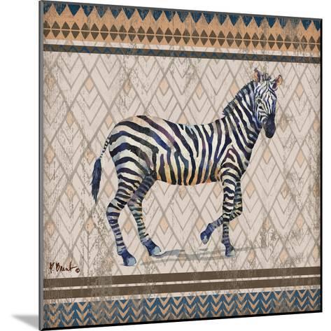 Tribal Trek Neutral I-Paul Brent-Mounted Art Print
