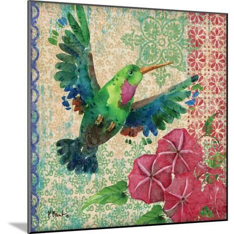 Zealous Hummingbird I-Paul Brent-Mounted Art Print