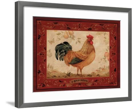 Gallo Dorato-Pamela Gladding-Framed Art Print