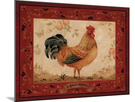 Gallo Dorato-Pamela Gladding-Mounted Art Print