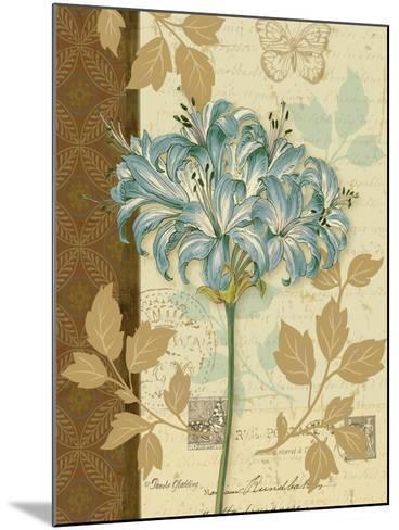 Chelsea Blue I-Pamela Gladding-Mounted Art Print
