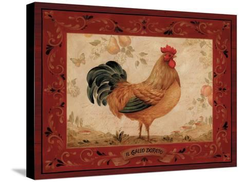 Gallo Dorato-Pamela Gladding-Stretched Canvas Print