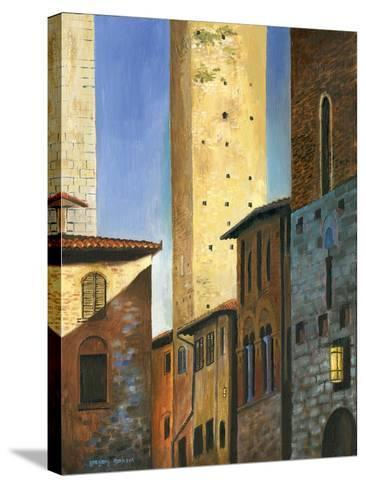 Italian Scene II-Gregory Gorham-Stretched Canvas Print