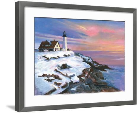 Winter's Light-Gregory Gorham-Framed Art Print