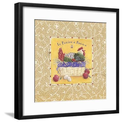 Le Panier a Pomme-Sudi Mccollum-Framed Art Print