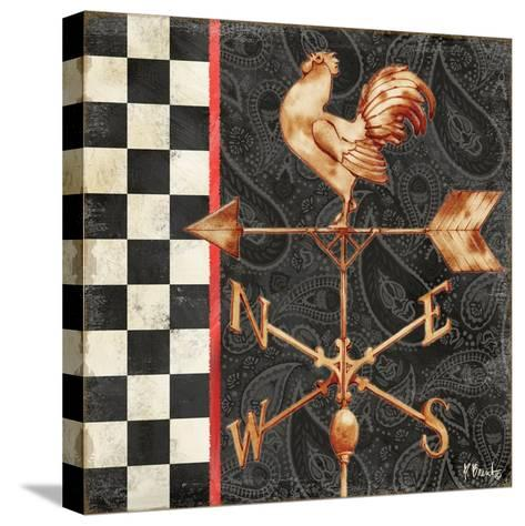 Paisley Weathervanes II-Paul Brent-Stretched Canvas Print