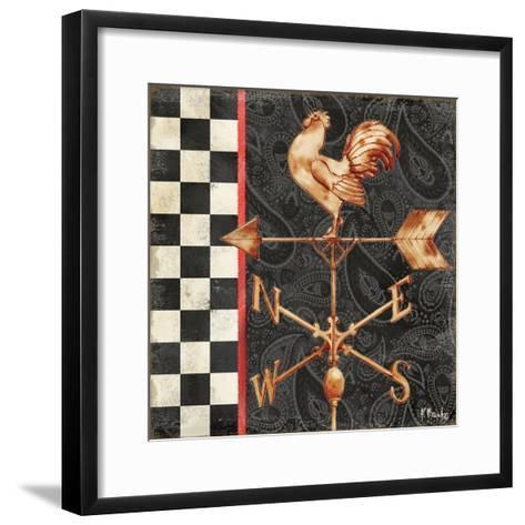 Paisley Weathervanes II-Paul Brent-Framed Art Print