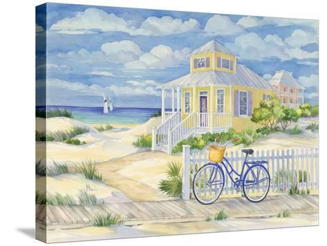 Beach Cruiser Cottage II-Paul Brent-Stretched Canvas Print