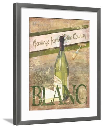 Chateau Chardonnay-Paul Brent-Framed Art Print
