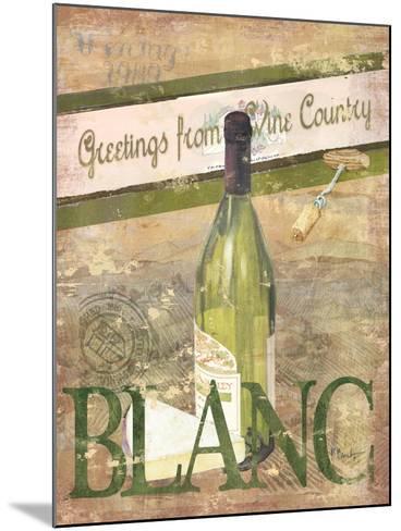 Chateau Chardonnay-Paul Brent-Mounted Art Print
