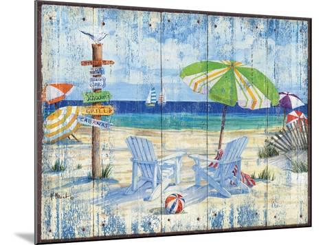 Beach Signs I-Paul Brent-Mounted Art Print