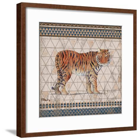 Tribal Trek Neutral III-Paul Brent-Framed Art Print