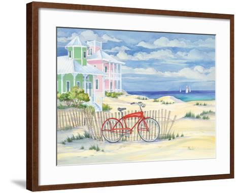 Beach Cruiser Cottage I-Paul Brent-Framed Art Print
