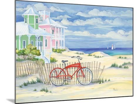 Beach Cruiser Cottage I-Paul Brent-Mounted Art Print