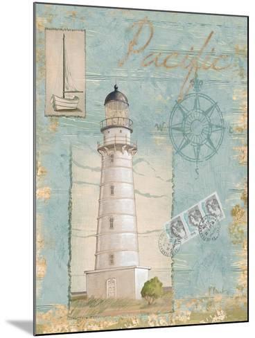 Seacoast Lighthouse II-Paul Brent-Mounted Art Print