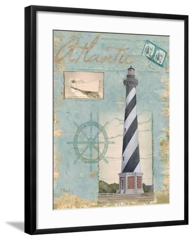 Seacoast Lighthouse I-Paul Brent-Framed Art Print