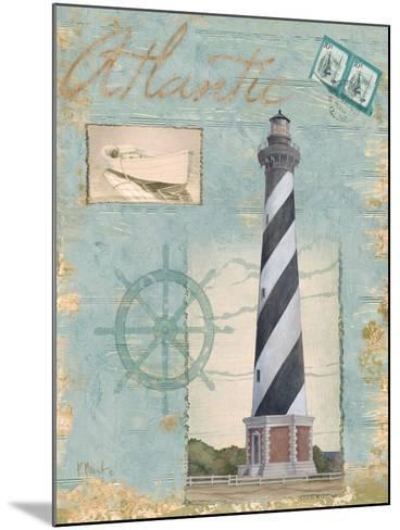 Seacoast Lighthouse I-Paul Brent-Mounted Art Print