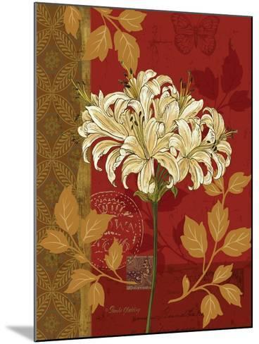 Chelsea Red I-Pamela Gladding-Mounted Art Print