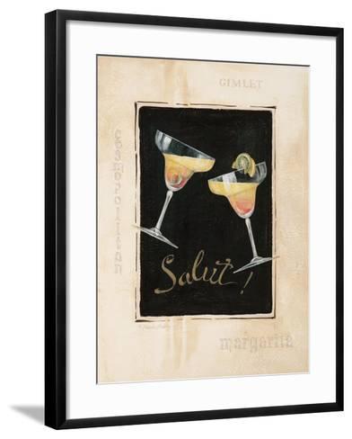 Cheers! IV-Pamela Gladding-Framed Art Print
