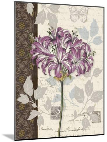 Chelsea Purple I-Pamela Gladding-Mounted Art Print