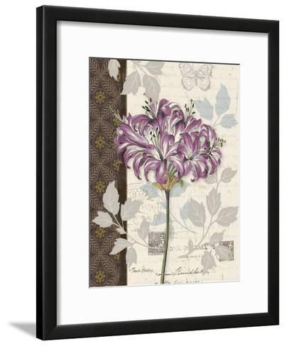Chelsea Purple I-Pamela Gladding-Framed Art Print