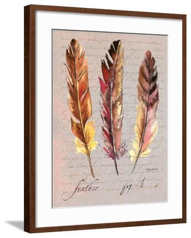 Feathers Fig 1-Gregory Gorham-Framed Art Print