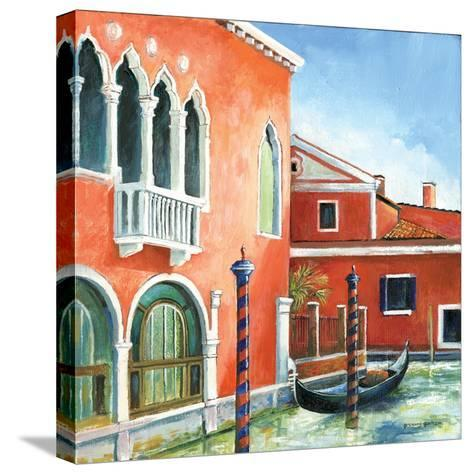 Italian Scene III-Gregory Gorham-Stretched Canvas Print