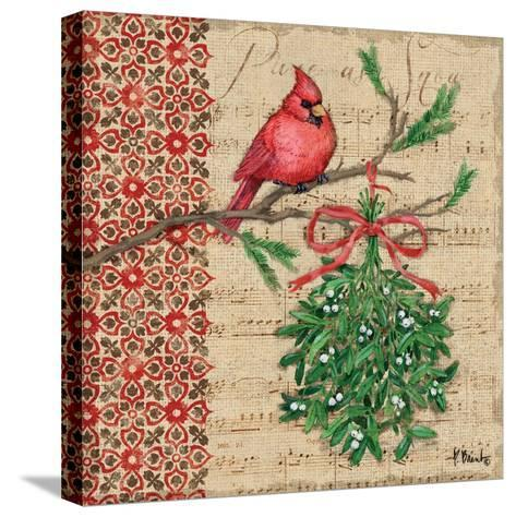 Burlap Holiday I-Paul Brent-Stretched Canvas Print