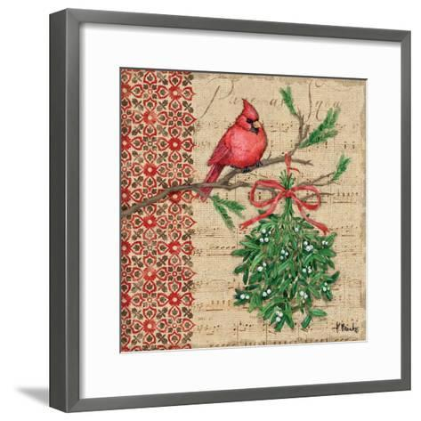 Burlap Holiday I-Paul Brent-Framed Art Print