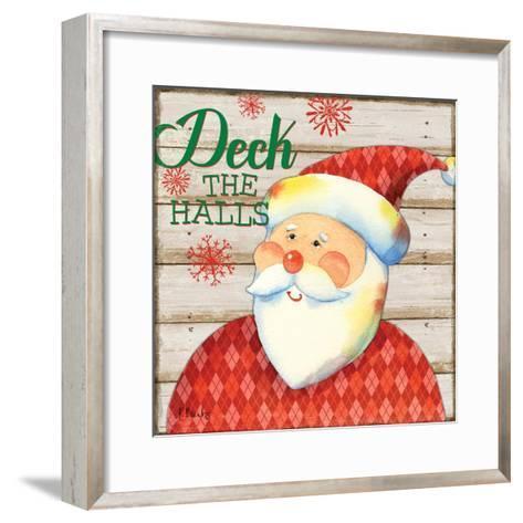 Jolly Santa II-Paul Brent-Framed Art Print