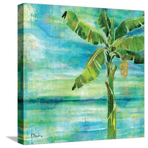 Banana Lagoon II-Paul Brent-Stretched Canvas Print