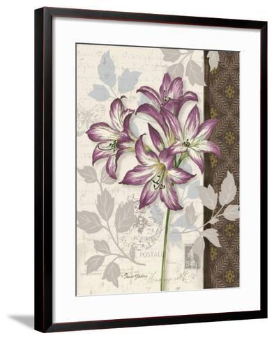 Chelsea Purple II-Pamela Gladding-Framed Art Print