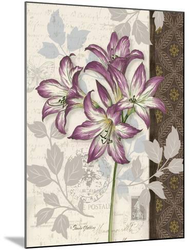 Chelsea Purple II-Pamela Gladding-Mounted Art Print