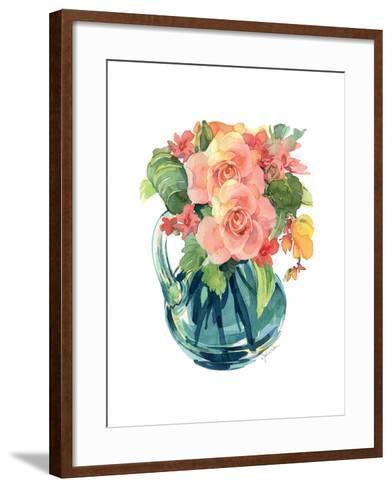 Rose Bouquet II-Julie Paton-Framed Art Print