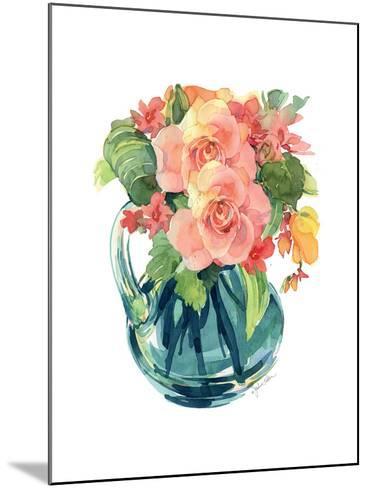 Rose Bouquet II-Julie Paton-Mounted Art Print