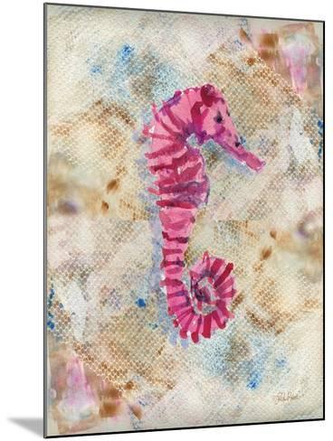 Pink Seahorse-LuAnn Roberto-Mounted Art Print