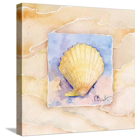 Scallop-Paul Brent-Stretched Canvas Print