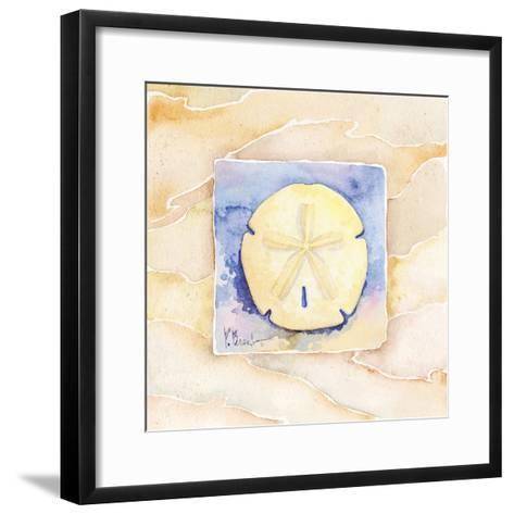 Sand dollar-Paul Brent-Framed Art Print