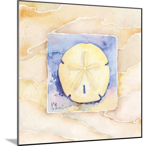 Sand dollar-Paul Brent-Mounted Art Print