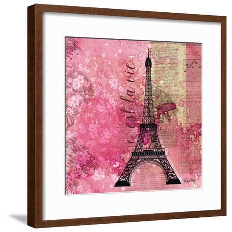 Pink Paris-LuAnn Roberto-Framed Art Print