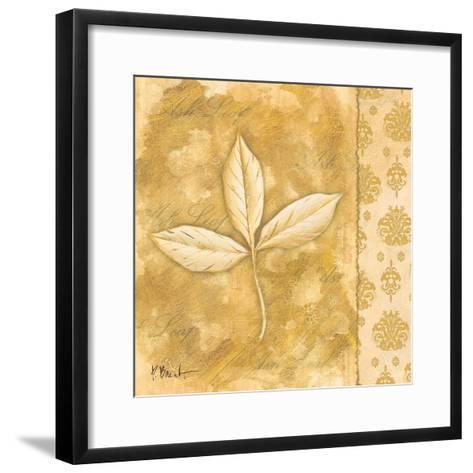 Leaf Oasis IV-Paul Brent-Framed Art Print