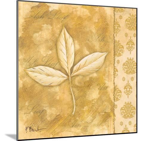Leaf Oasis IV-Paul Brent-Mounted Art Print