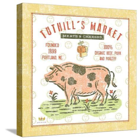 Tuthill Pig-Sudi Mccollum-Stretched Canvas Print