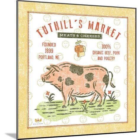 Tuthill Pig-Sudi Mccollum-Mounted Art Print