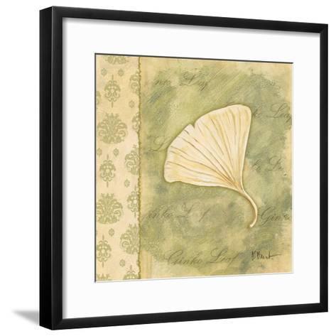 Leaf Oasis III-Paul Brent-Framed Art Print