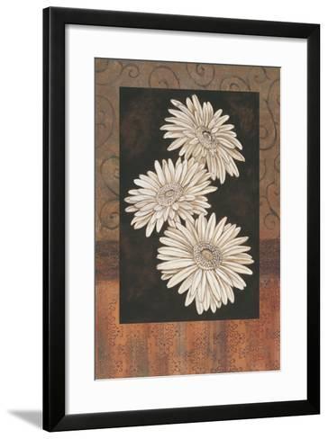 Santorini Daisies-Paul Brent-Framed Art Print