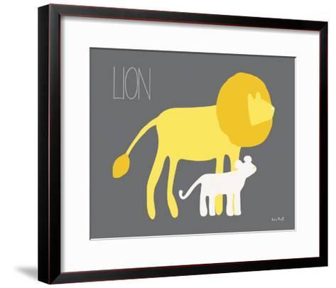 Yellow Zoo II-Kris Ruff-Framed Art Print